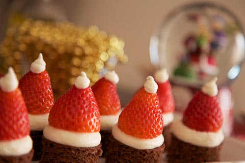 Chocolate Christmas Cakes