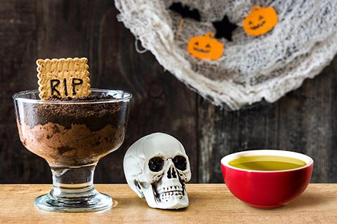 Chocolate Mousse recipe for Halloween