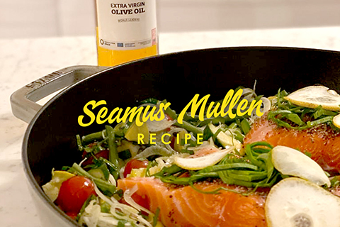 Roasted Salmon by Seamus Mullen
